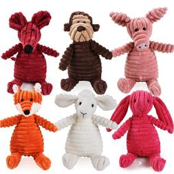 16 Animals <font><b>Dog</b></font> Chew Squeak <font><b>Toys