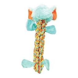 Boss Pet Products 1868181 Braided Small Rope Elephant Dog To