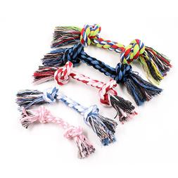 1pcs Pet <font><b>Dog</b></font> Puppy Double Cotton Chew kn