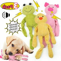 3 Pcs For Dog Toy Play Funny Pet Puppy Chew Squeaker Squeaky