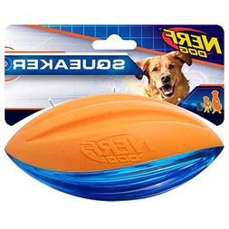 Nerf Dog 3221 Large TPR/Foam Squeak Football, Pet Squeak Toy