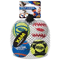 Nerf Dog 3372 Solid Tuff Sports Ball Squeak Toy