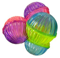 Ethical 4 Shimmer Balls Cat Toys