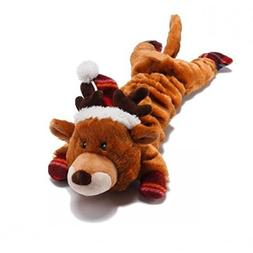 Charming 61023 Christmas Merry Stretchmas Moose Pet Products