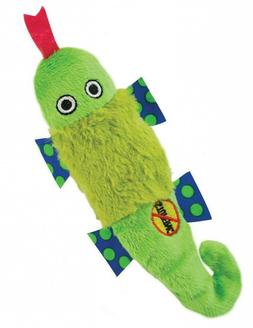 Petstages 649 Stuffing Free Lizard, Petite Fun Squeaking Plu