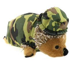 9.8'' Squeaky Hedgehog Plush Toy Squeaker Sound Puppy Chewin