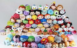 Hundreds of Disney TSUM TSUM Mickey Peter Pan Nemo Marvel Pl