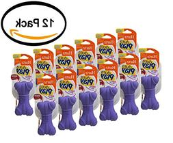 PACK OF 12 - Hartz Dura Play Small Bone Dog Toy, 1ct