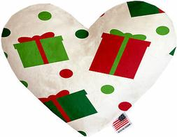 All the Presents! 6 Inch Heart Dog Toy