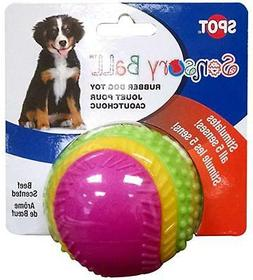 Ethical Pets Ball Rubber Dog Toy Assorted - Single Pack