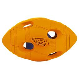 Nerf Dog Small LED Bash Football Light-Up Orange Dog Toy