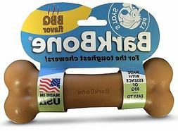 Pet Qwerks BBQ BarkBone Dog Chew Toys for Aggressive Chewers