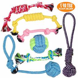 BK Puppy & Dog Play Toys for Small Dogs and Puppies - Set of