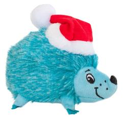 Outward Hound Small Blue Holiday Hedgehogz Dog Toy