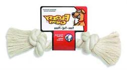 FLOSSY CHEW WHITE BONE - MEDIUM