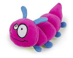 goDog Bugs Caterpillar with Chew Guard Technology Plush Sque