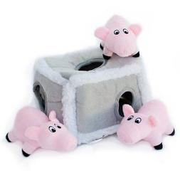 burrow squeaky hide seek plush