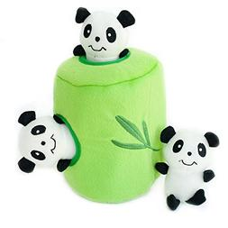 ZippyPaws - Zoo Friends Burrow, Interactive Squeaky Hide and