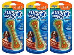 Hartz Chew N' Clean Assorted Colors Dental Duo Toy and Edibl