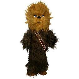 "STAR WARS Chewbacca Stick Dog Toy, 12"" L X 6"" W, Large, Brow"