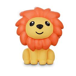 Leaps & Bounds Chomp and Chew Latex Orange Mane Lion Dog Toy