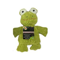 Hugglehounds CHUBBIE BUDDY FROG Squeaker Dog Toy SM or LRG