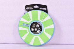 Chuckit! ZipFlight Max Glow Frisbee Dog Toy Bright Playtime
