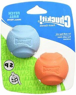 "Chuckit 519200 2"" Small Chuckit! Ball Assorted Colors 2 Pack"