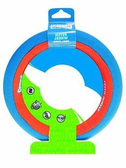 Chuckit! Fetch Wheel Toy for Dogs Rolling Toy Buoyant Bright