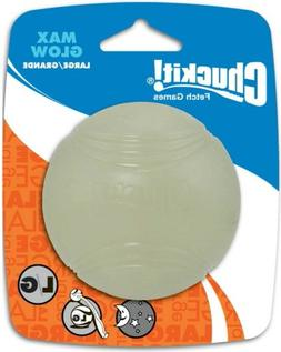 Chuckit! Max Glow Ball Large 3-inch, 1 pack