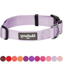 Blueberry Pet 32 Colors Classic Dog Collar, Lavender, X-Smal