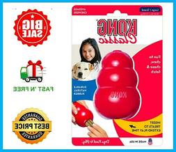 Kong Classic Dog Toy Rubber Chew - Large/Red - T1 Free&Fast