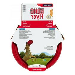 Kong Classic Flyer Toy For Dog Puppy Fetch Frisbee Disc Soft