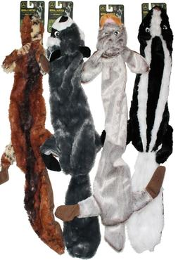 "4-PACK CLEARANCE!!  4-PACK XL 28"" Stuffing Free Squeaker Dog"