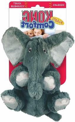 Kong Comfort Kiddos Dog Toy - Elephant Free Shipping