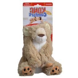 Kong Comfort Kiddos Dog Toy - Lion  Free Shipping
