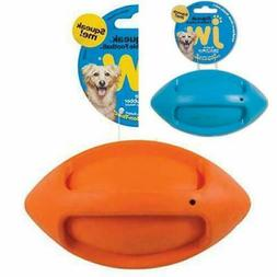 JW Pet Company iSqueak Funble Football Dog Toy, Medium Mediu