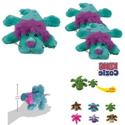 Kong Cozie King The Purple Haired Lion, Small Dog Toy, Blue