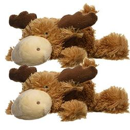 KONG Cozie Marvin the Moose, Small Dog Toy, Brown
