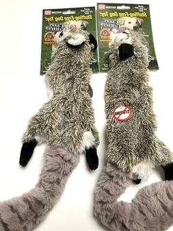 As Seen On TV Crazy Critters Raccoon Dog Toy - Stuffing-Free