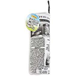Crinkle Stuffed Daily Fetch Doggy Newspaper Dog Toy-