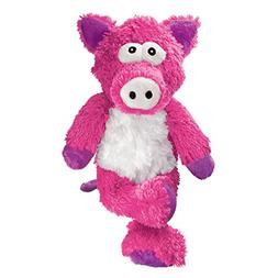 KONG Cross Knots Pig Toy, Medium/Large
