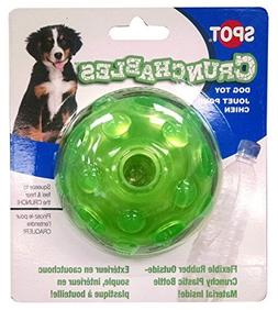 Ethical Pets Crunchable Ball Dog Toy, 3.5 by Ethical Pets