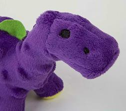goDog Dinos with Chew Guard Technology Durable Plush Dog Toy
