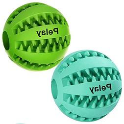 Pelay Dog Ball Toys for Pet Tooth Cleaning/Chewing/Playing,I