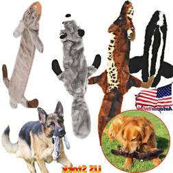Dog Chew Plush Toys Cute Puppy Squeaky Training Toy Rabbit S