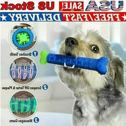 Dog Toothbrush Dog Chew Toy Pet Molar Tooth Cleaner Brushing
