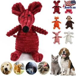 Dog Chew Toy Squeaky Plush Dog Toy for Aggressive Chewers wi