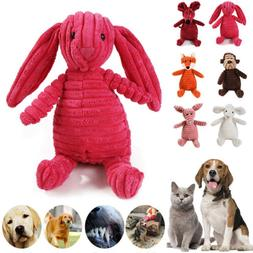 Dog Chew Toy Squeaky Plush Dog Toy for Aggressive Chewers Du