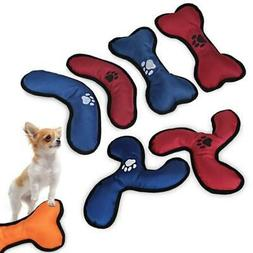 Dog Flying Discs Toy Pet Chewing Play Nylon Sound